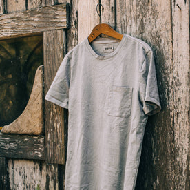 The Botanical Dye Tee in Grey - featured image