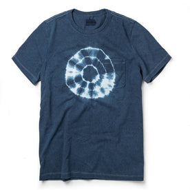 The Botanical Dye Tee in Indigo - featured image