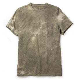 The Botanical Dye Tee in Moss - featured image