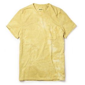 The Botanical Dye Tee in Ochre - featured image