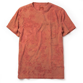 The Botanical Dye Tee in Rust - featured image