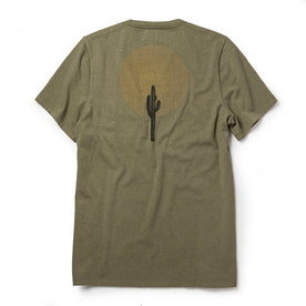 The Heavy Bag Tee in Cactus Moon: Alternate Image 6