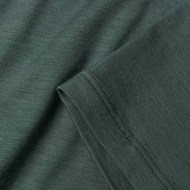 The Merino Tee in Sea Green: Alternate Image 5