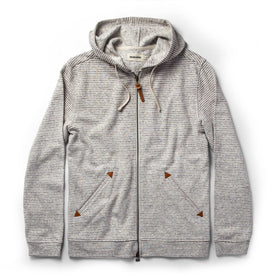 The Après Hoodie in Natural Hemp Stripe - featured image