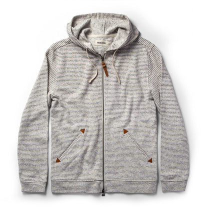 The Après Hoodie in Natural Hemp Stripe: Featured Image