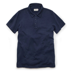 The Heavy Bag Polo in Navy: Featured Image