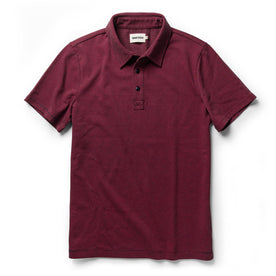 The Heavy Bag Polo in Red Stripe - featured image