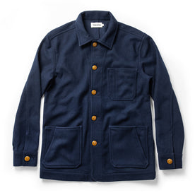 The Ojai Jacket in Navy Boiled Wool: Featured Image