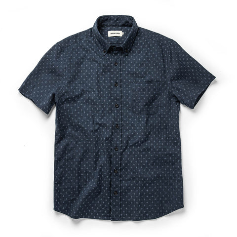The Short Sleeve Jack in Indigo Star - featured image