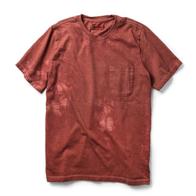 The Botanical Dye Tee in Rust: Featured Image