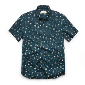 The Short Sleeve Jack in Navy Aloha: Featured Image
