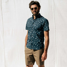 The Short Sleeve Jack in Navy Aloha - featured image
