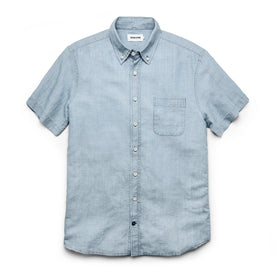 The Short Sleeve Jack in Sun Bleached Linen - featured image