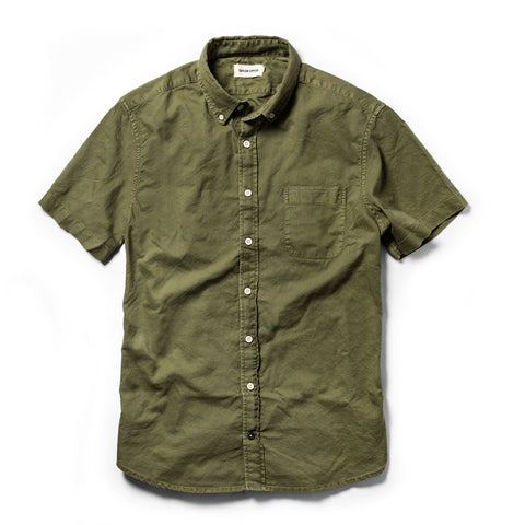 The Short Sleeve Jack in Cactus Oxford - featured image