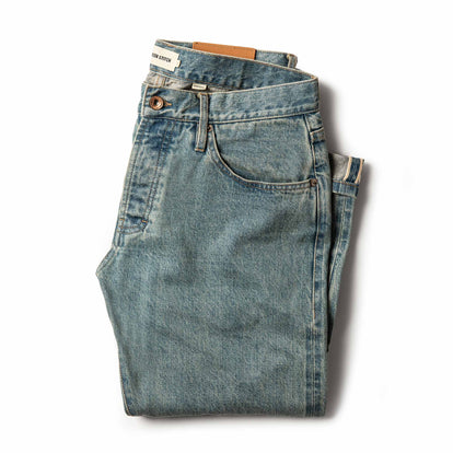 The Democratic Jean in 24-Month Wash Japanese Selvage
