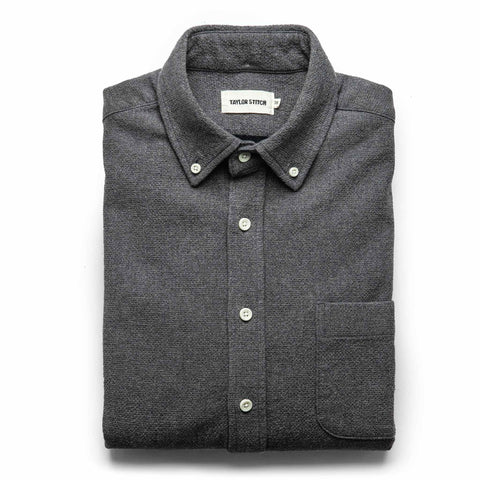 The Jack in Charcoal Double Cloth - featured image
