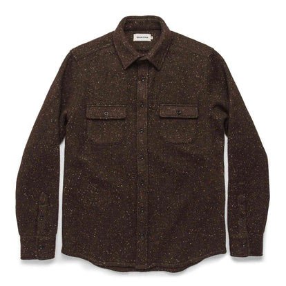 The Leeward Shirt in Chocolate Donegal: Alternate Image 8