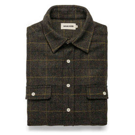 The Leeward Shirt in Olive Plaid - featured image