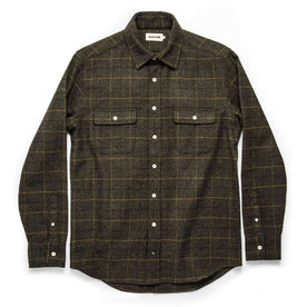 The Leeward Shirt in Olive Plaid: Alternate Image 7