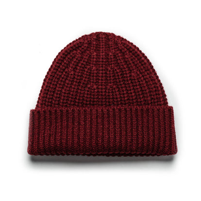 The Beanie in Maroon: Featured Image