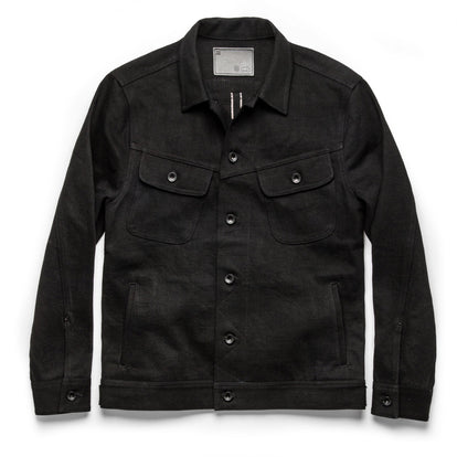 The Long Haul Jacket in Black Selvage: Featured Image