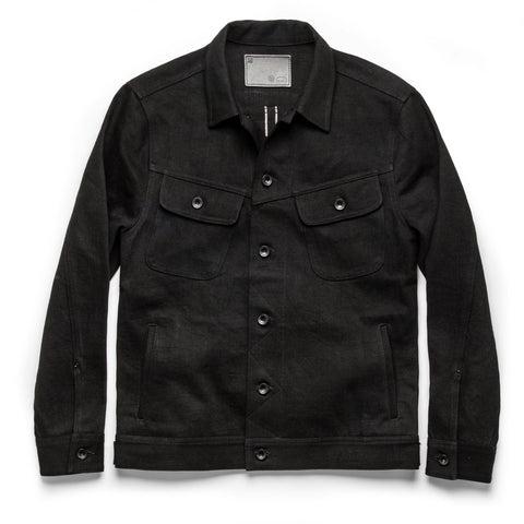 The Long Haul Jacket in Black Selvage - featured image