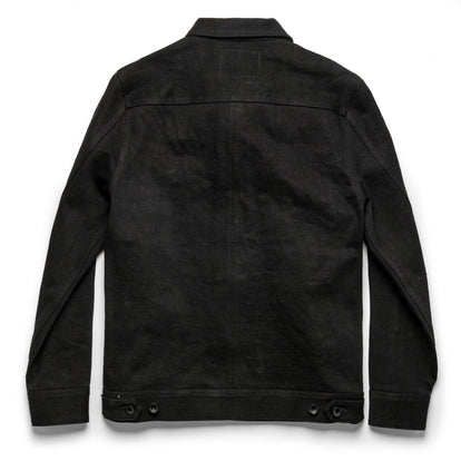 The Long Haul Jacket in Black Selvage: Alternate Image 10