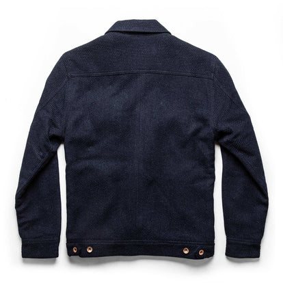 The Long Haul Jacket in Indigo Sashiko: Alternate Image 10