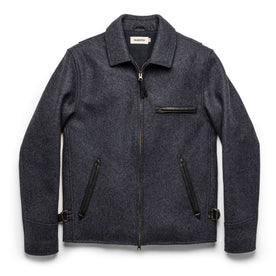 The Monterey Bomber in Navy Wool: Featured Image