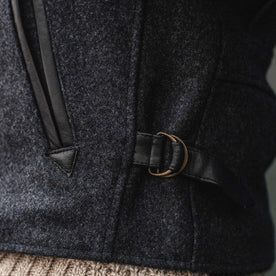 The Monterey Bomber in Navy Wool: Alternate Image 3