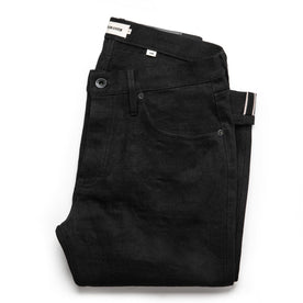 The Slim Jean in Black Selvage: Featured Image