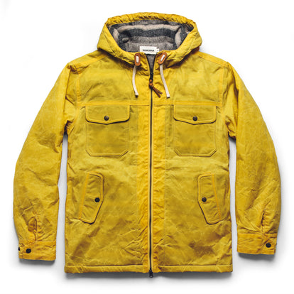 The Winslow Parka in Mustard Waxed Canvas: Featured Image