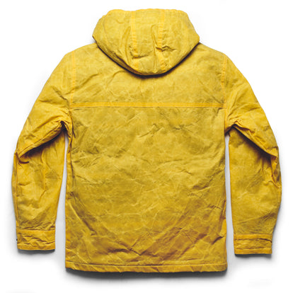 The Winslow Parka in Mustard Waxed Canvas: Alternate Image 11