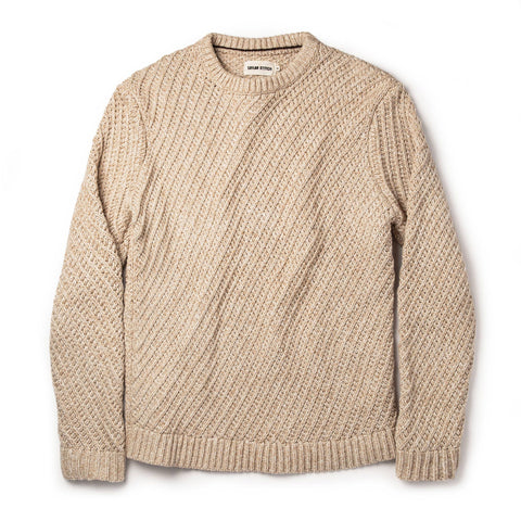The Adirondack Sweater in Natural - featured image