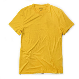 The Cotton Hemp Tee in Gold - featured image