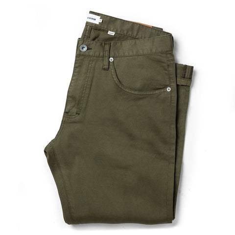 The Democratic All Day Pant in Olive Bedford Cord - featured image