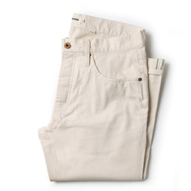 The Democratic Jean in Natural Organic Selvage - featured image