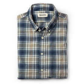 The Jack in Melange Navy Plaid - featured image