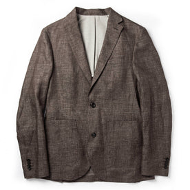 The Sheffield Sportcoat in Cocoa Linen - featured image
