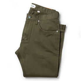 The Slim All Day Pant in Olive Bedford Cord - featured image