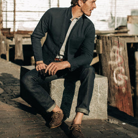 The Slim Jean in Organic Selvage - featured image