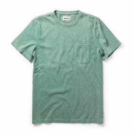 The Heavy Bag Tee in Dusty Teal: Featured Image
