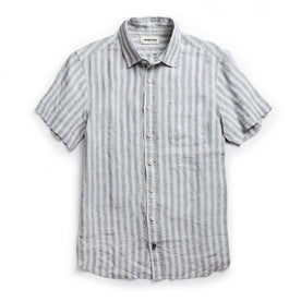 The Short Sleeve California in Grey Stripe: Featured Image
