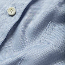 The Short Sleeve Jack in Washed Blue Oxford: Alternate Image 6