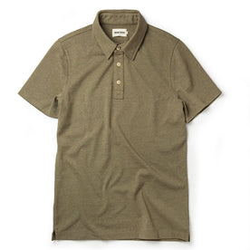 The Heavy Bag Polo in Olive: Featured Image