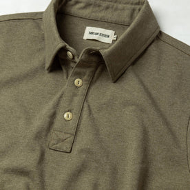 The Heavy Bag Polo in Olive: Alternate Image 4