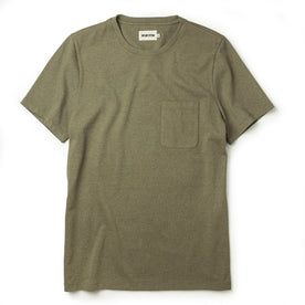 The Heavy Bag Tee in Olive - featured image