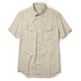 The Short Sleeve Western in Natural - featured image