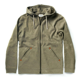 The Après Hoodie in Olive - featured image