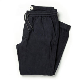 The Après Pant in Coal Double Cloth - featured image